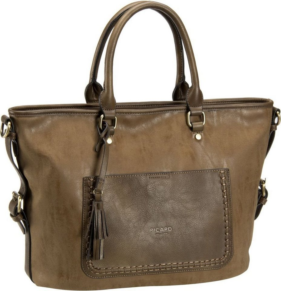 Picard Amaro 2098 Schultertasche in Taupe