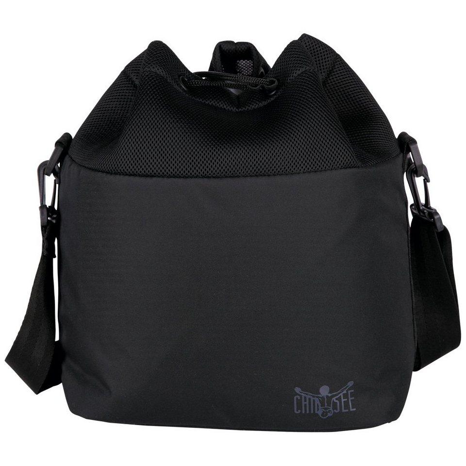 Chiemsee Tasche »AIRMESH DRAWSTRING BAG« in black