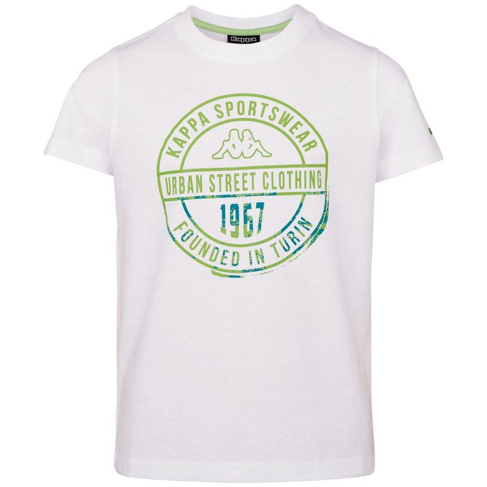 KAPPA T-Shirt »ZAHIT KIDS« in white
