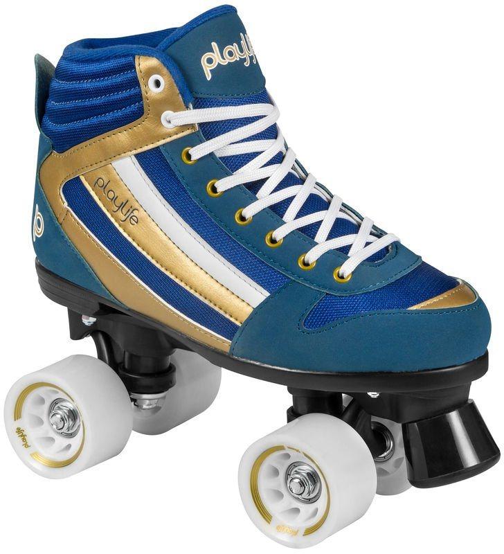 Playlife Rollerskates, Herren, »Groove« in blau-goldfarben
