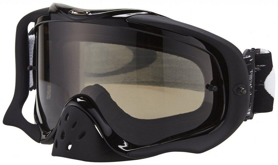Oakley Radsportbrille »Crowbar MX Goggle« in schwarz