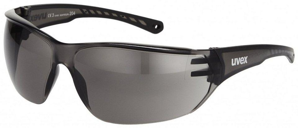 UVEX Radsportbrille »sportstyle 204 Brille« in grau