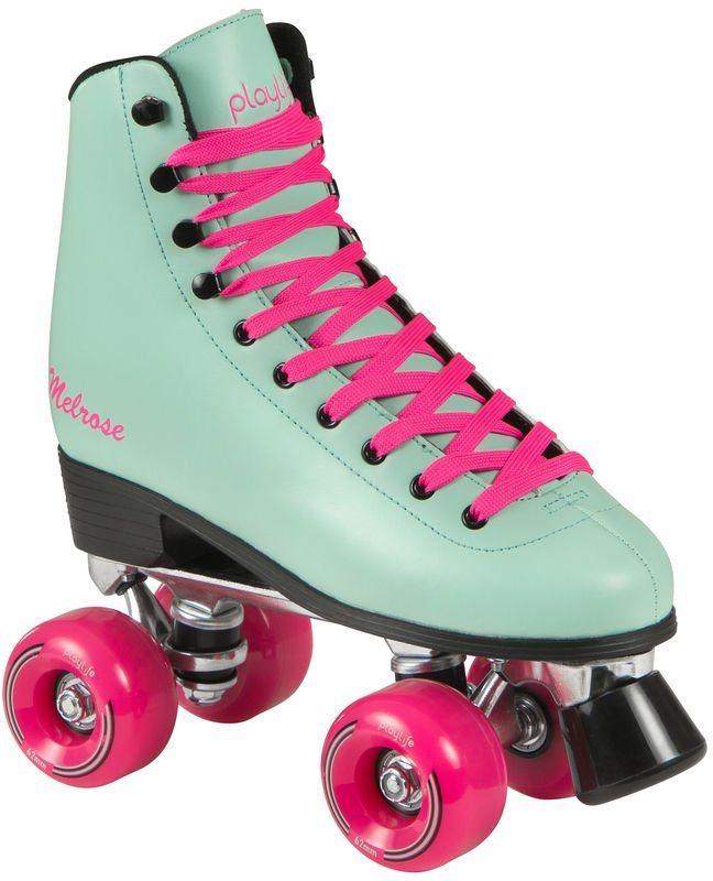 Playlife Rollerskates, Damen, »Melrose Deluxe« in türkis-pink
