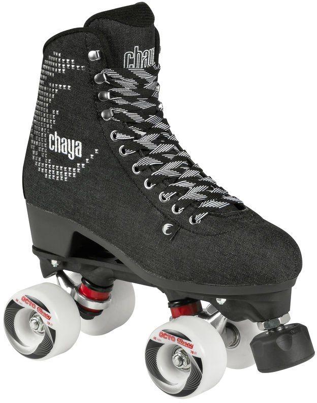 Chaya Rollerskates, Damen, »Noir« in schwarz