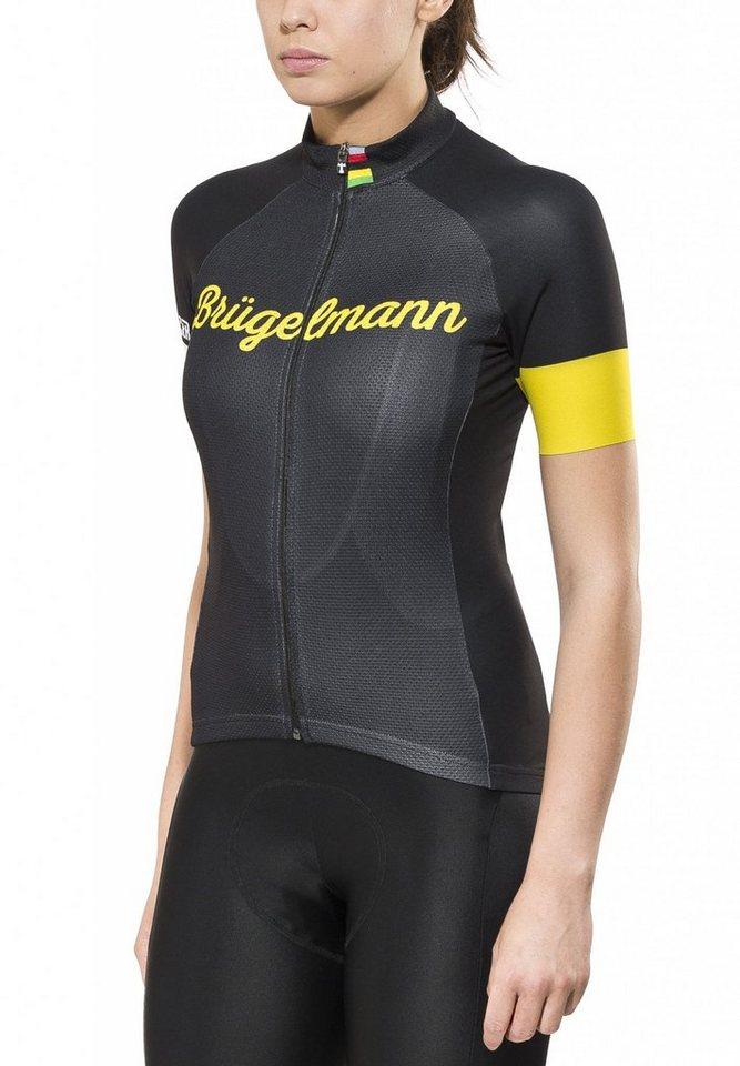 Brügelmann Radtrikot »Bioracer Classic Race Jersey Women« in schwarz