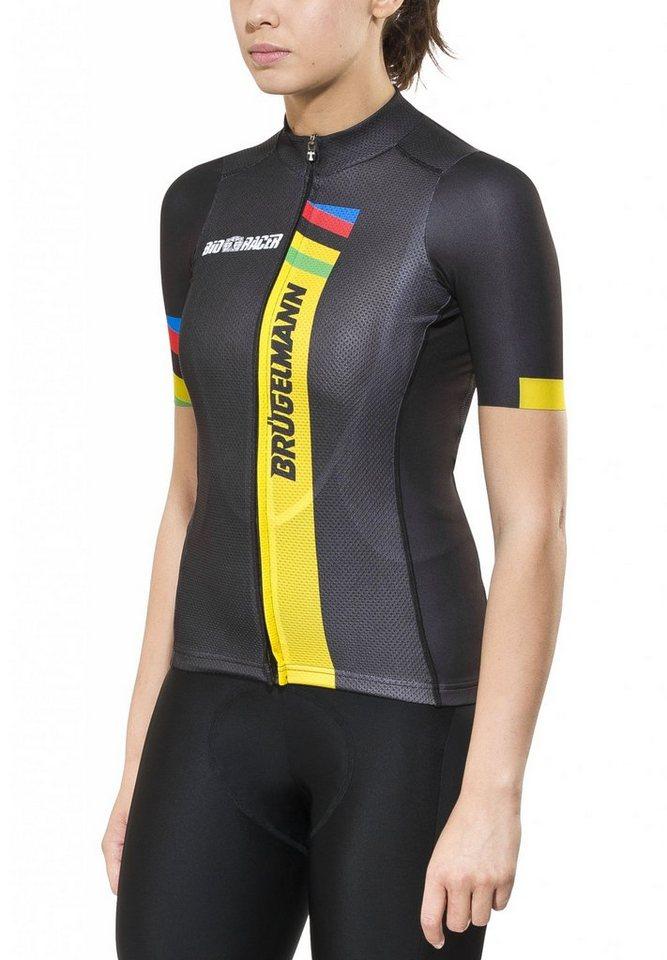 Brügelmann Radtrikot »Bioracer Pro Race Jersey Women« in schwarz