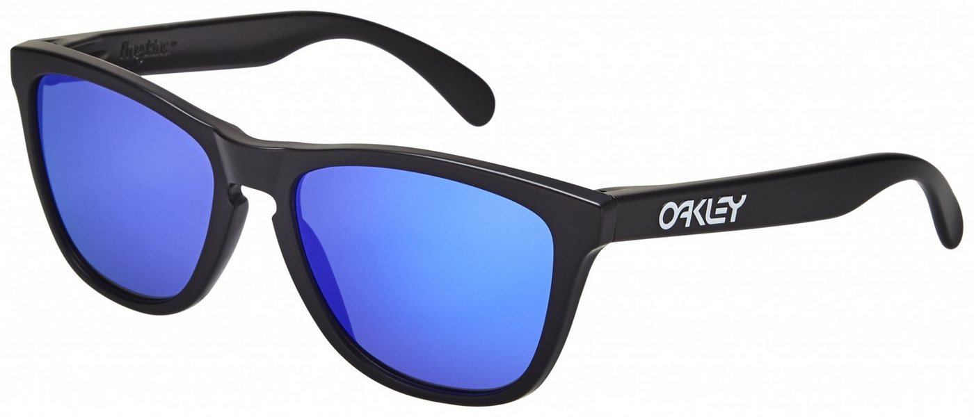 Oakley Frogskin - Sonnenbrille für Herren Schwarz jetztbilligerkaufen