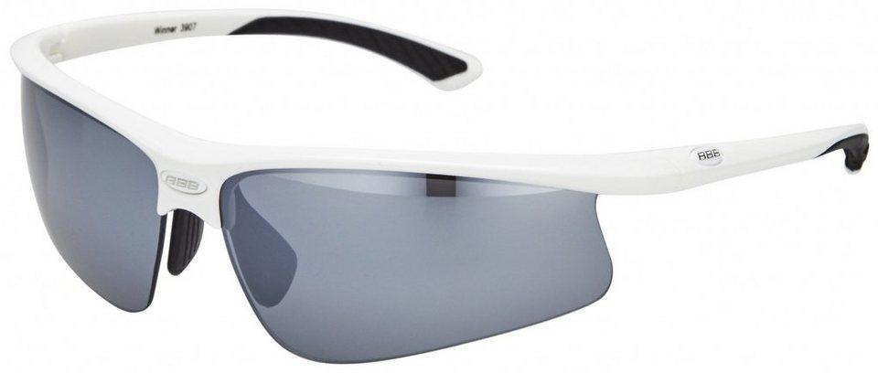 BBB Radsportbrille »Winner BSG-39 Sonnenbrille weiß« in weiß