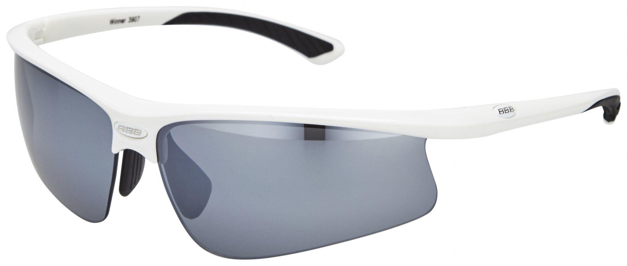 BBB Radsportbrille »Winner BSG-39 Sonnenbrille weiß«