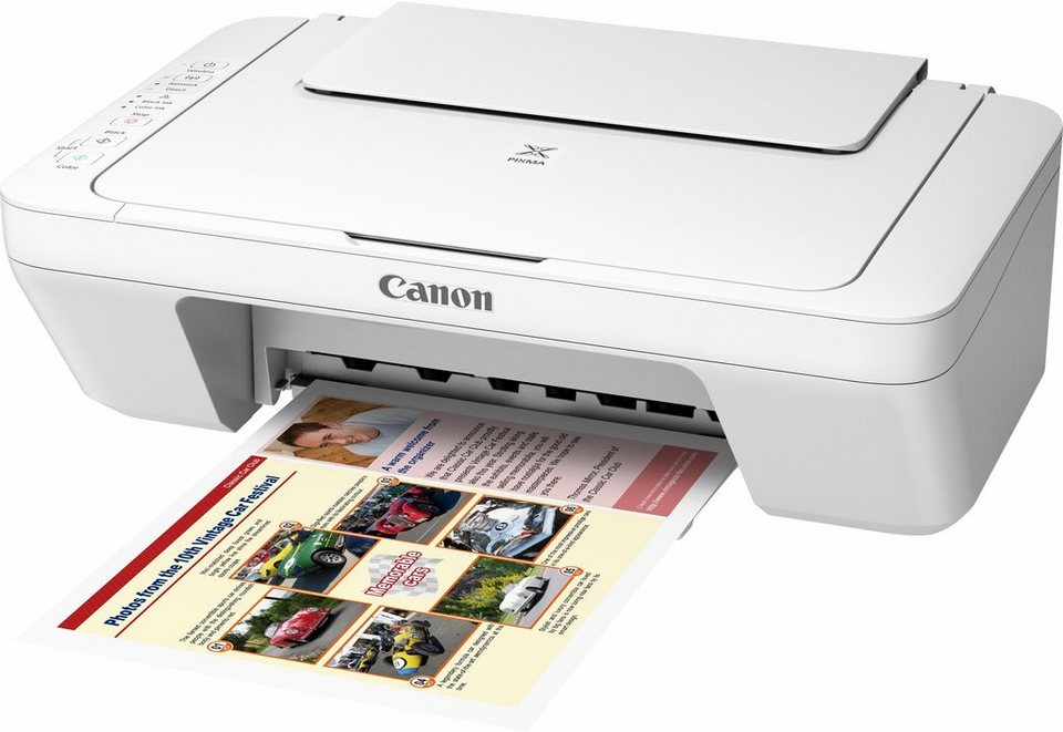 Canon PIXMA MG3051 Multifunktionsdrucker in weiß