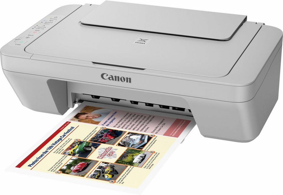 Canon PIXMA MG3052 Multifunktionsdrucker in grau