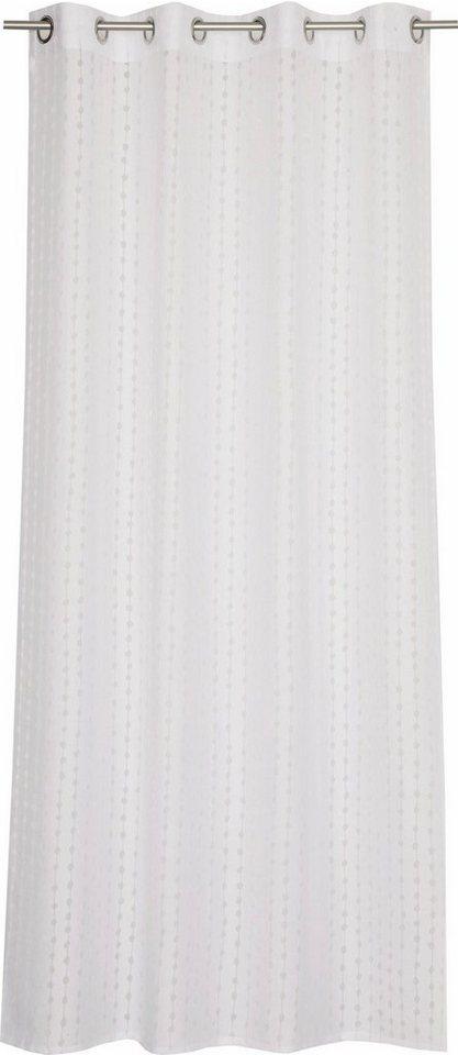 Vorhang, Esprit, »Artisan Dotty« (1 Stück) in weiß