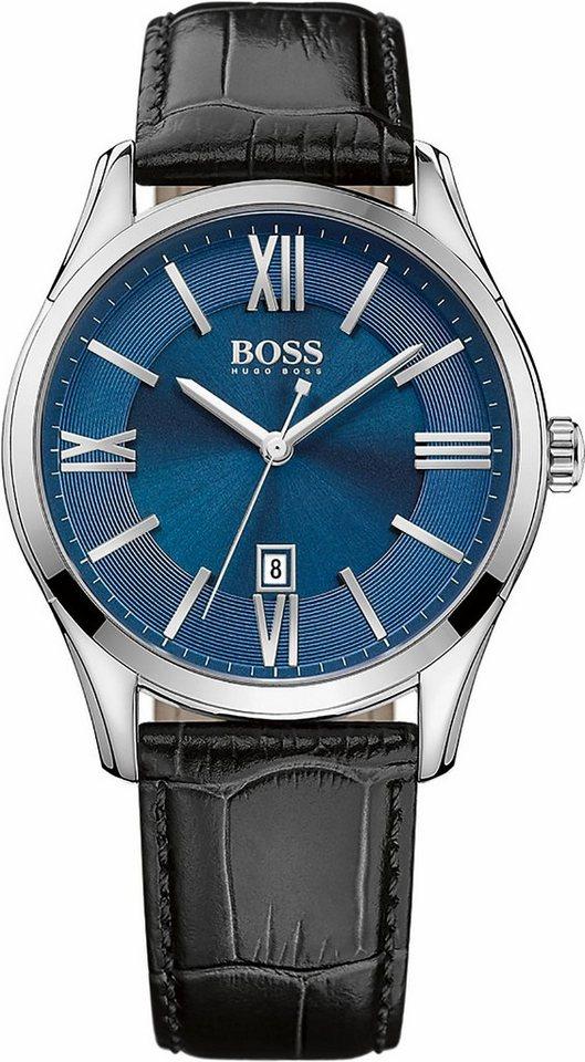 Boss Quarzuhr »Ambassador, 1513386« in schwarz