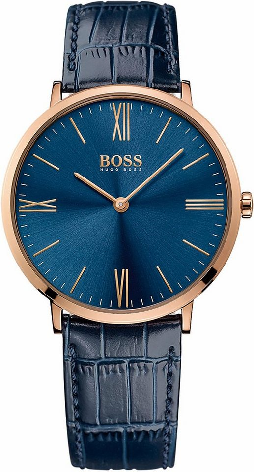 Boss Quarzuhr »Jackson, 1513371« in blau