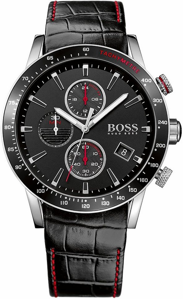 Boss Chronograph »Rafale, 1513390« in schwarz