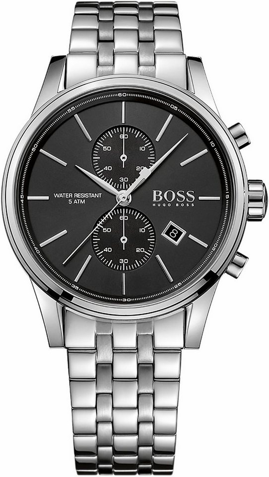 Boss Chronograph »Jet, 1513383« in silberfarben