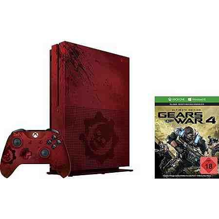 Xbox One S 2TB - Gears of War Limited Edition Bundle