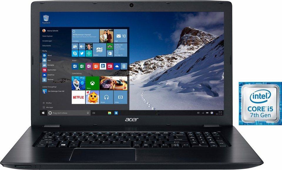 Acer Aspire E 17 (E5-774G-53Z1) Notebook, Intel® Core™ i5, 43,9 cm (17,3 Zoll), 1128 GB Speicher in schwarz