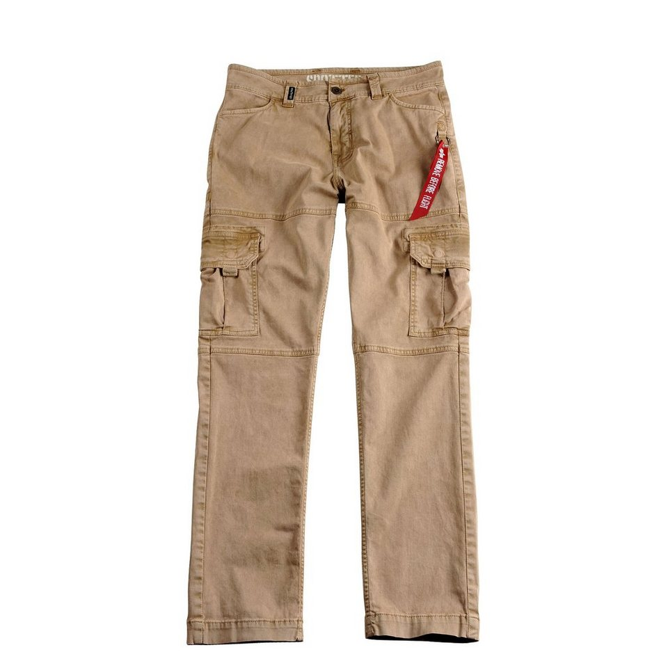 ALPHA INDUSTRIES Hose »Spotter« in khaki