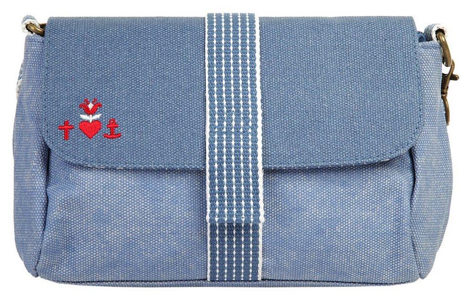 blutsgeschwister Damen Umhängetasche »punschrullar« in blau