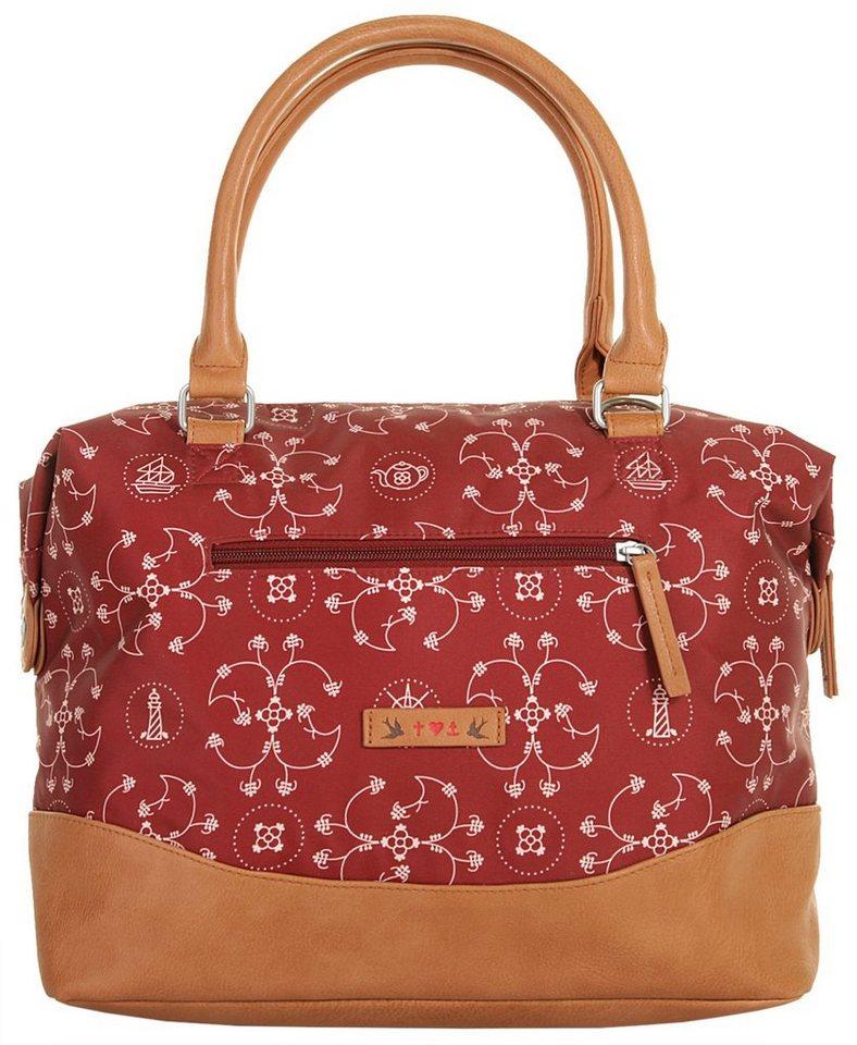 blutsgeschwister Damen Handtasche »esterhazy ellbow bag« in rot