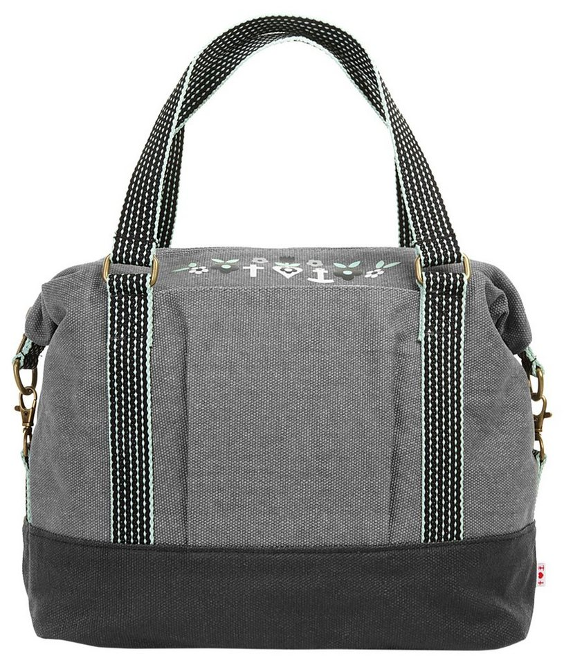 blutsgeschwister Damen Handtasche »polarlight handbag« in grau