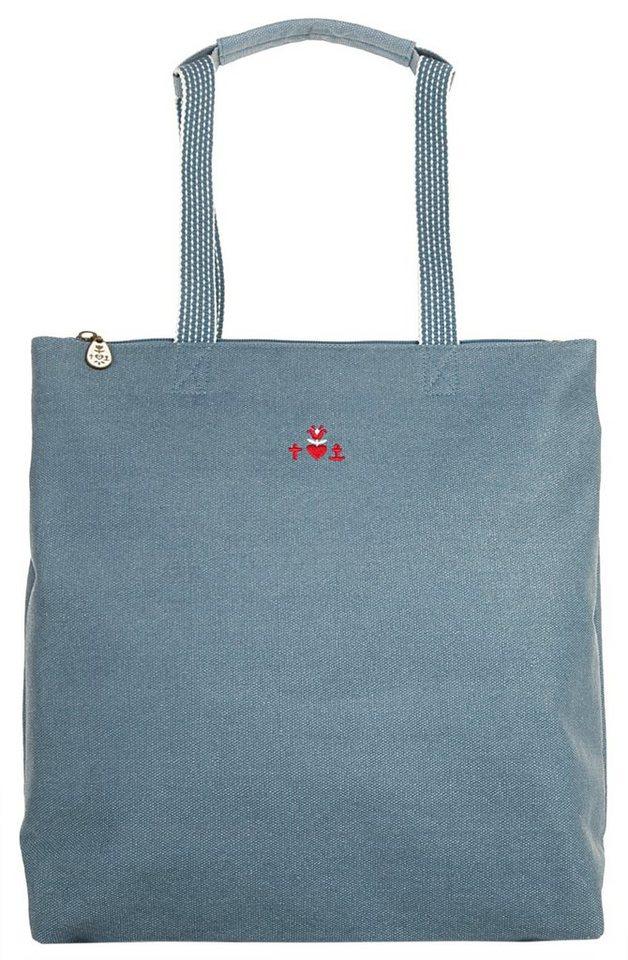blutsgeschwister Damen Rucksack-Shopper »kötbullar shopper« in blau