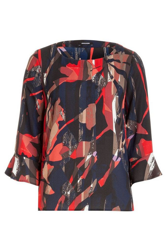 MORE&MORE Printbluse in wie Farbmuster
