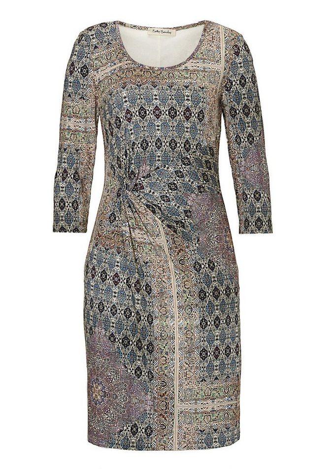 Betty Barclay Kleid in Weiß/Blau - Bunt