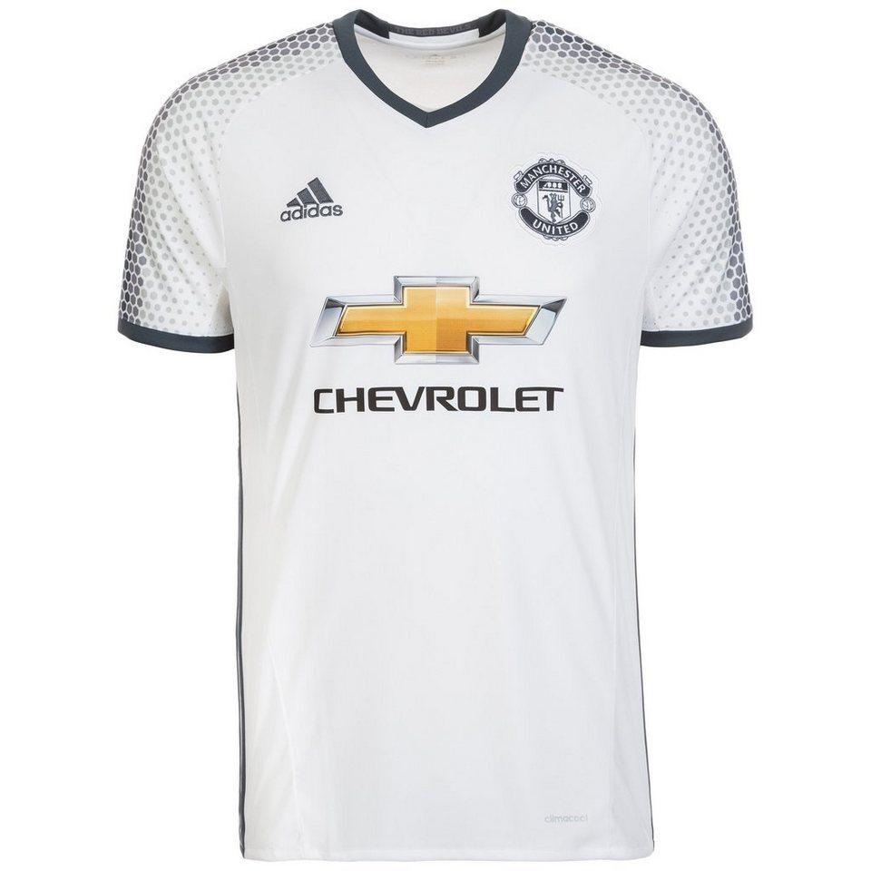 adidas Performance Manchester United Trikot 3rd 2016/2017 Herren in weiß / grau