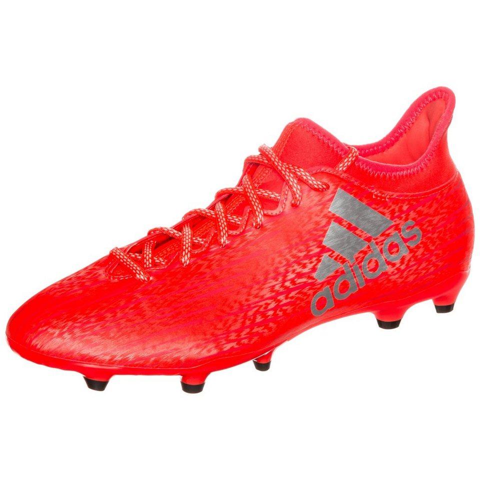 adidas Performance X 16.3 FG Fußballschuh Herren in neonrot / silver