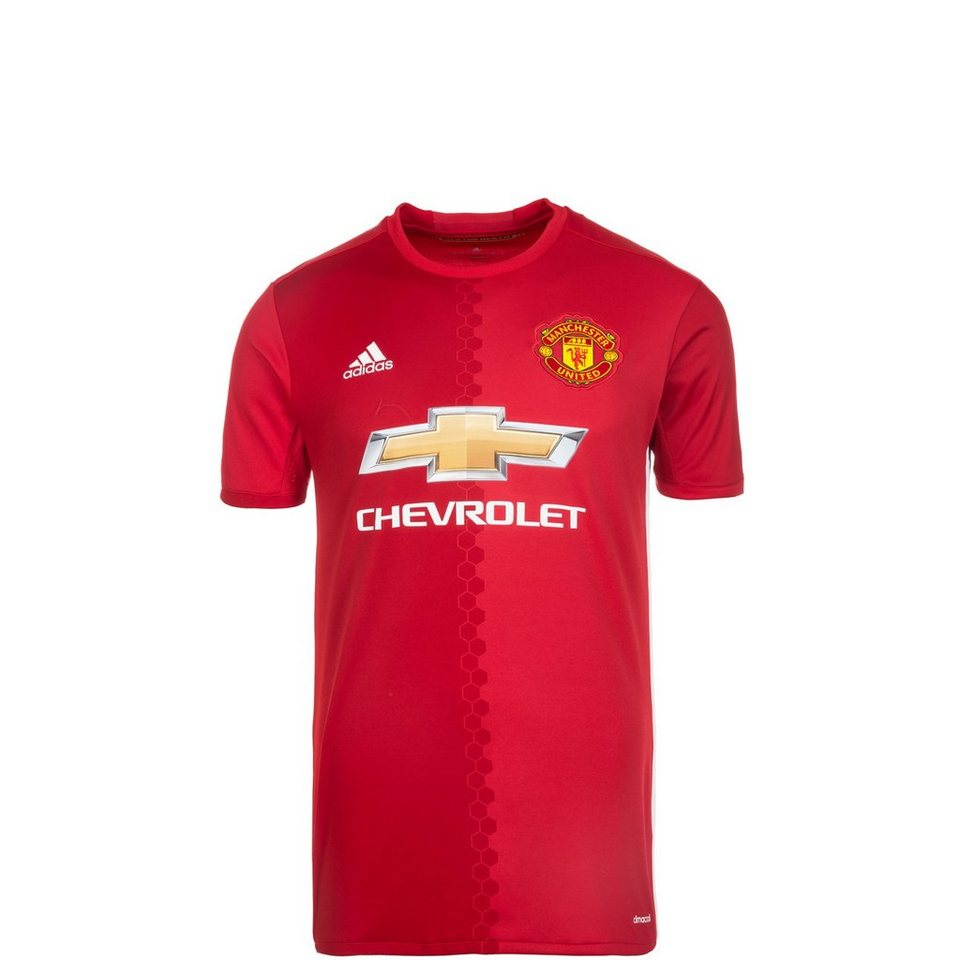 adidas Performance Manchester United Trikot Home 2016/2017 Kinder in rot / weiß