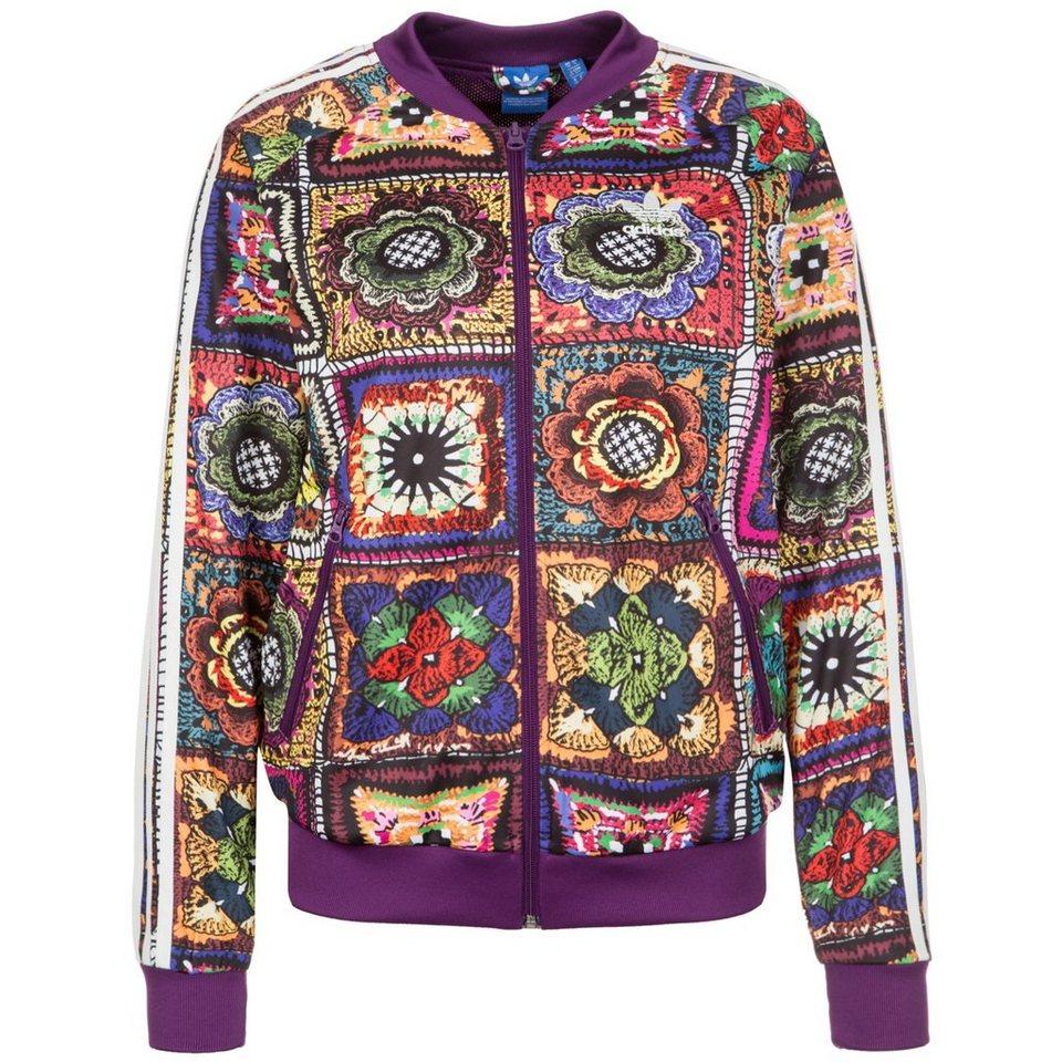 adidas Originals Crochita Supergirl Track Top Jacke Damen in bunt