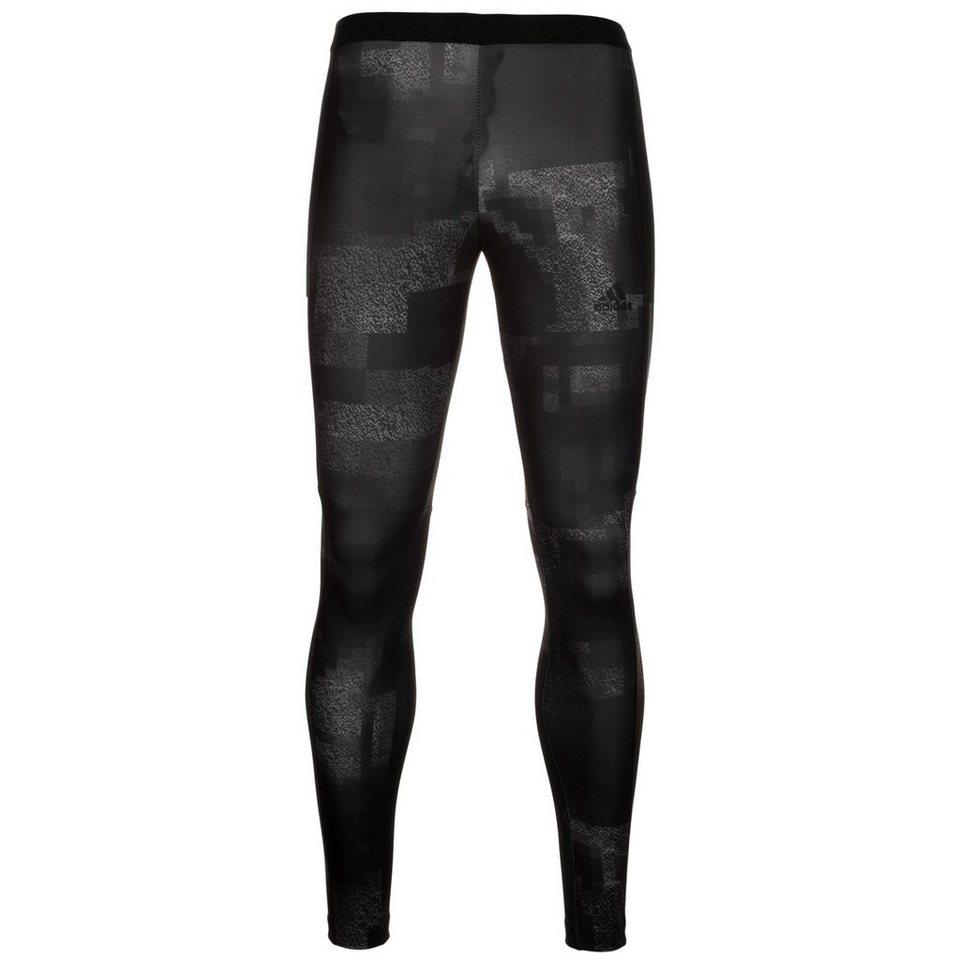 adidas Performance Kanoi Graphic Lauftight Herren in schwarz / grau