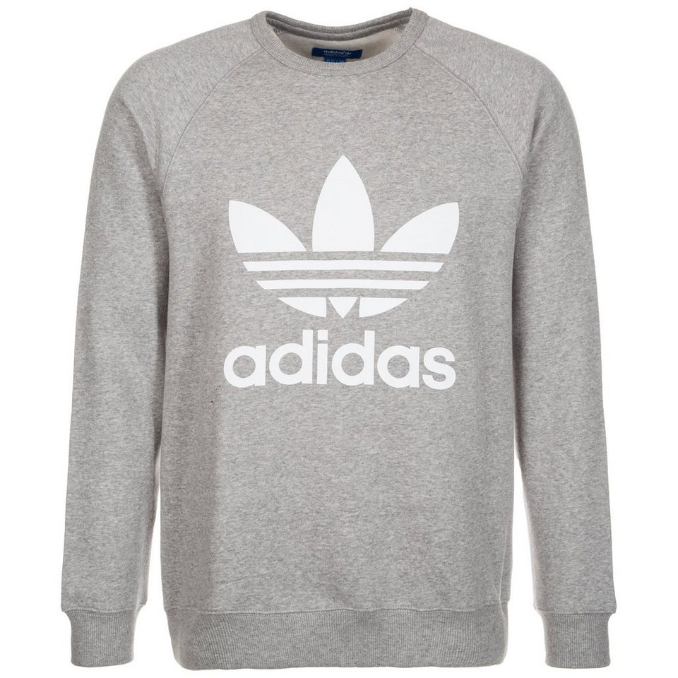 adidas originals trefoil crew sweatshirt herren otto. Black Bedroom Furniture Sets. Home Design Ideas