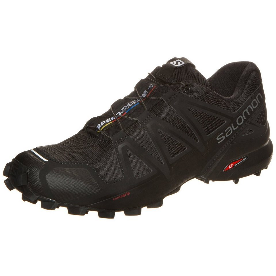 Salomon Speedcross 4 Trail Laufschuh Herren in schwarz