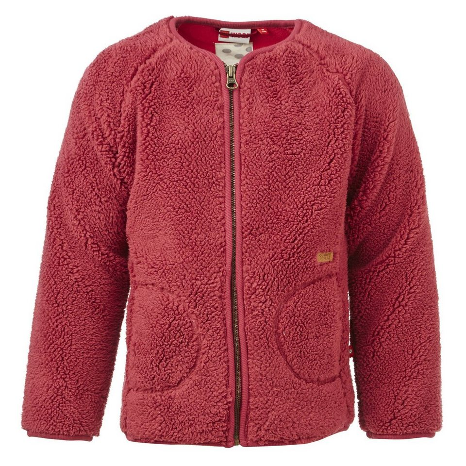 LEGO Wear Brick?N Bricks Fleece-Cardigan Sage Fleece Jacke in bordeaux