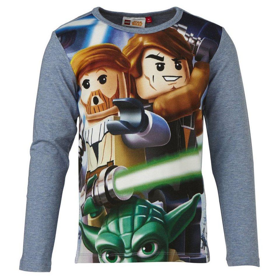 "LEGO Wear STAR WARS(TM) Langarm-T-Shirt Tony ""Jedi Knights"" langarm Secret in blau"