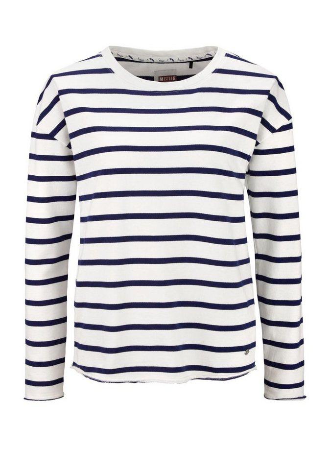 MUSTANG Sweatshirt in dress blue
