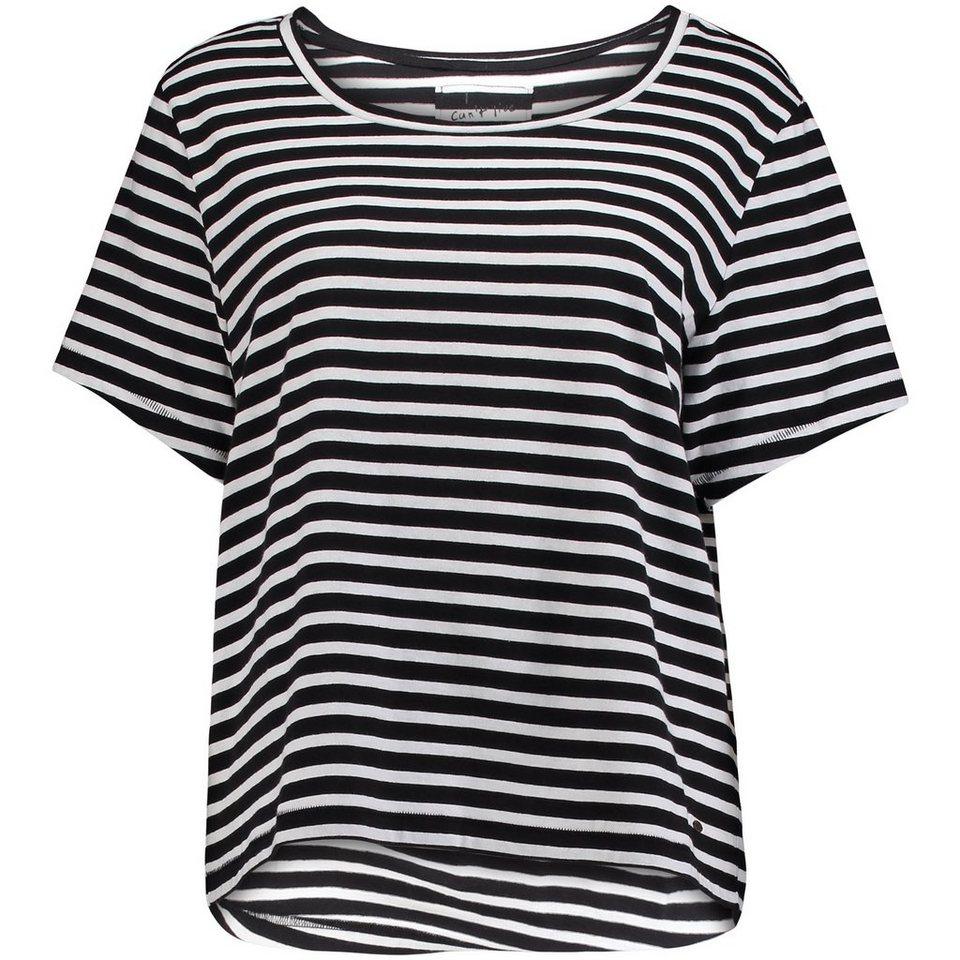 O'Neill T-shirt manches courtes »Jack's Stripe« in Schwarz mit weiß