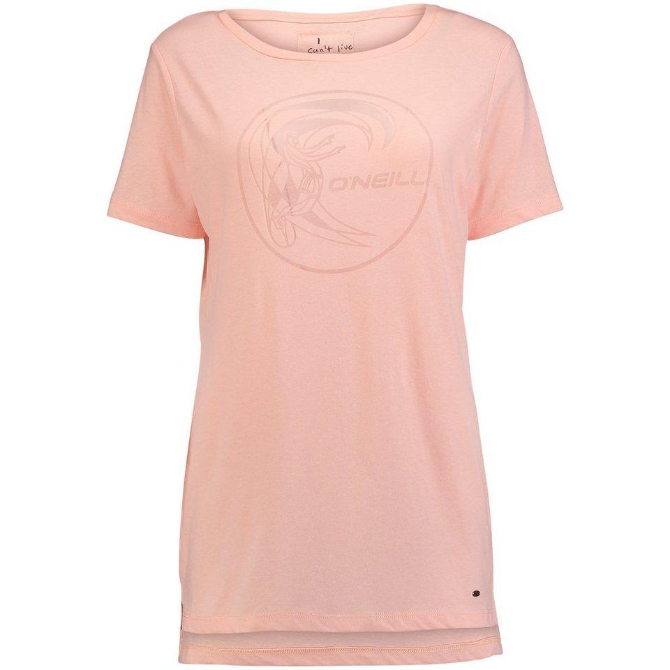 O'Neill T-Shirt kurzärmlig »Jack's Base Brand« in Pfirsich