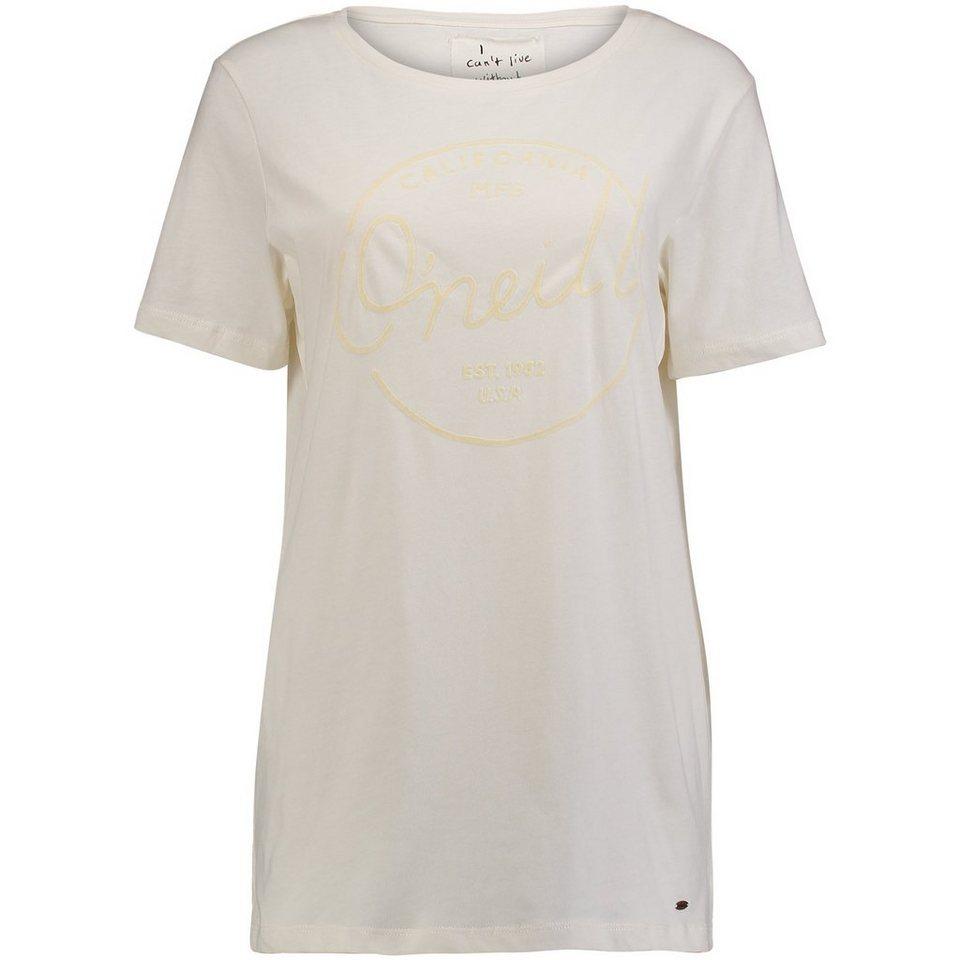 O'Neill T-Shirt kurzärmlig »Jack's Base Brand« in Weiß