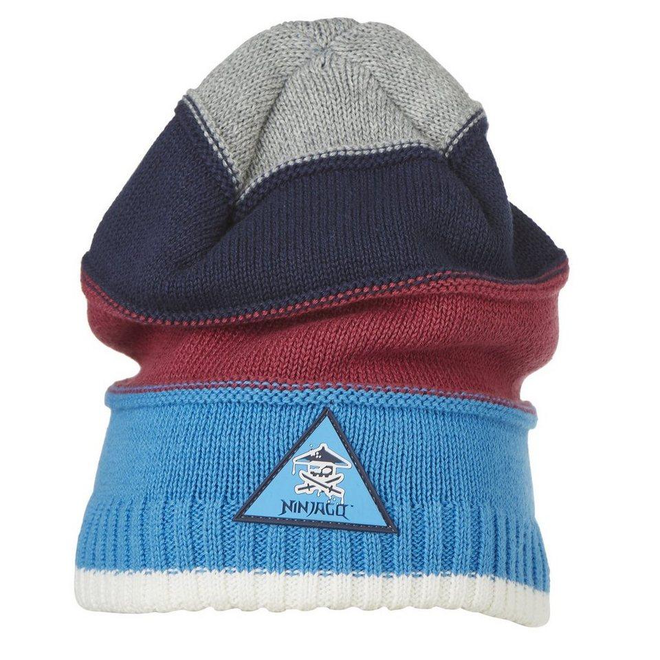 LEGO Wear Ninjago Wintermütze Ace Hut gestreift in blau