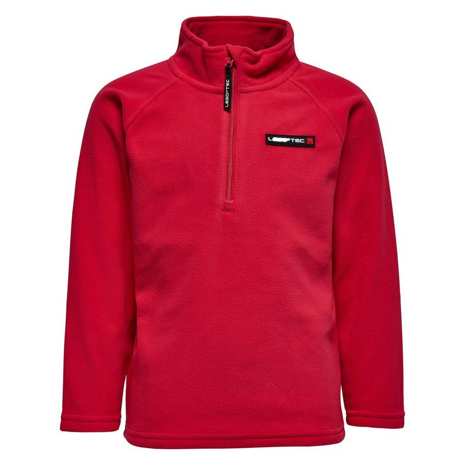 LEGO Wear Fleecepullover LEGO® TEC SKEET Uni Pullover Micro Fleece in rot