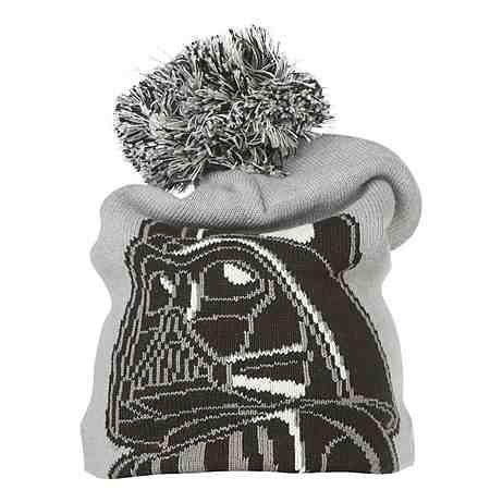 "LEGO Wear STAR WARS(TM) Bommelmütze Ace ""Darth Vader"" Hut Reflektor"