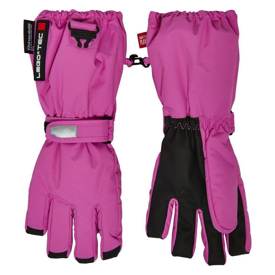 """LEGO Wear Handschuhe Abriel LEGO® TEC 8.000 mm Wassersäule """"Uni"""" in pink"""