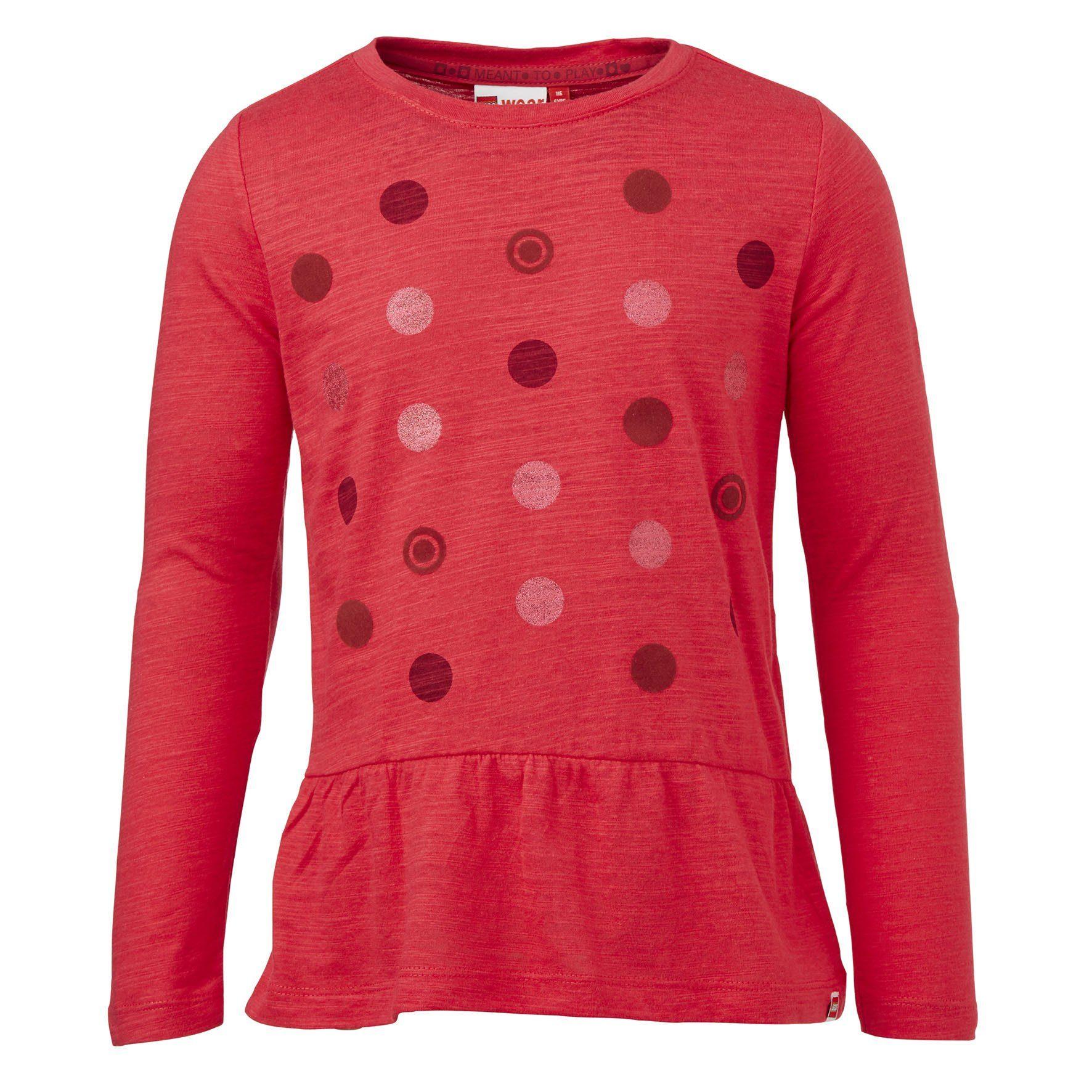 """LEGO Wear Brick?N Bricks Langarm-T-Shirt Tamara langarm """"Points"""" Shirt"""