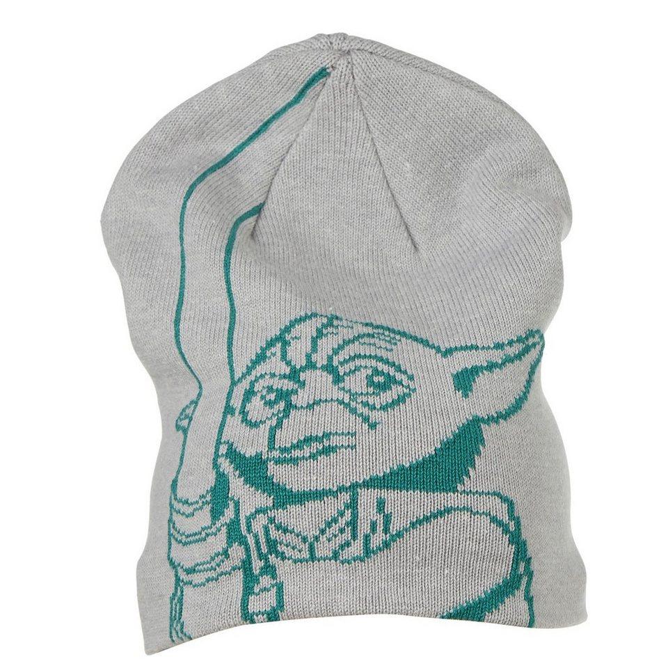 """LEGO Wear STAR WARS(TM) Mütze Ace """"Yoda"""" Hut in grau"""