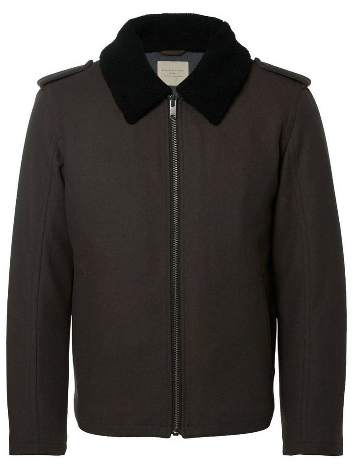 Selected Pilot - Jacke in Forest Night