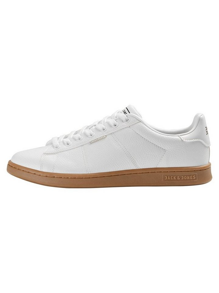 Jack & Jones Gummisohlen- Sneaker in Bright White